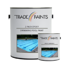 2 Pack Epoxy Swimming Pool Paint
